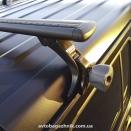 Багажник на водостоки Thule Raingutter Foot Low 9512 15см алюминиевая поперечина Thule WingBar Evo Black черная