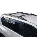 багажник на рейлинги с аэродинамическими поперечинами Thule WingBar Edge Black 958XB черный