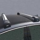 Багажник в штатные места на крыше Thule WingBar Edge 959XB с не выступающими поперечинами Thule WingBar Black черный