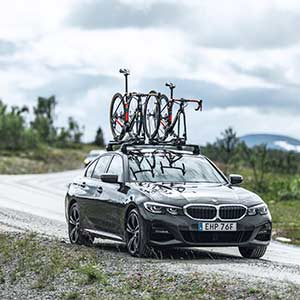 Крепление для велосипеда на крышу Thule: практично, удобно, надежно