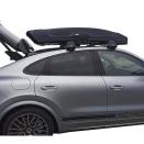 Бокс на крышу Thule Vector Alpine Black Metallic 380л черный металлик
