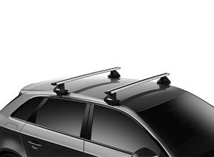 Багажники на гладкую крышу