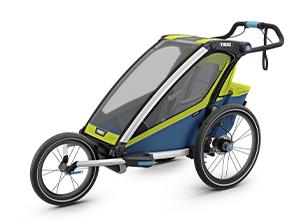 Мультиспортивные детские коляски и велоприцепы