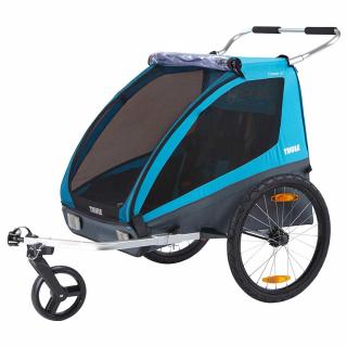 Детский велоприцеп-коляска Thule Coaster XT Blue