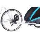 Велосипедный прицеп-коляска для детей Thule Coaster XT Blue