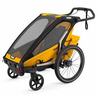 Детская коляска прицеп Thule Chariot Sport 1 Spectra Yellow