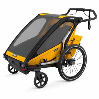 Детская коляска прицеп Thule Chariot Sport 2 Spectra Yellow