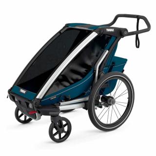 Детская коляска прицеп Thule Chariot Cross 1 Majolica Blue