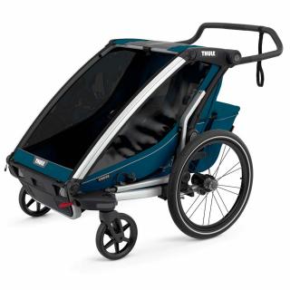 Детская коляска прицеп Thule Chariot Cross 2 Majolica Blue