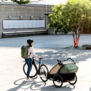 Детская коляска мультиспортивный прицеп Thule Chariot Cab 2 Cypress Green