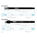 Переходник для задней оси Thule Thru Axle Syntace 152-165 M12x1.0