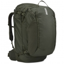 Туристический рюкзак Thule Landmark 70L Dark Forest (тёмно-зелёный)