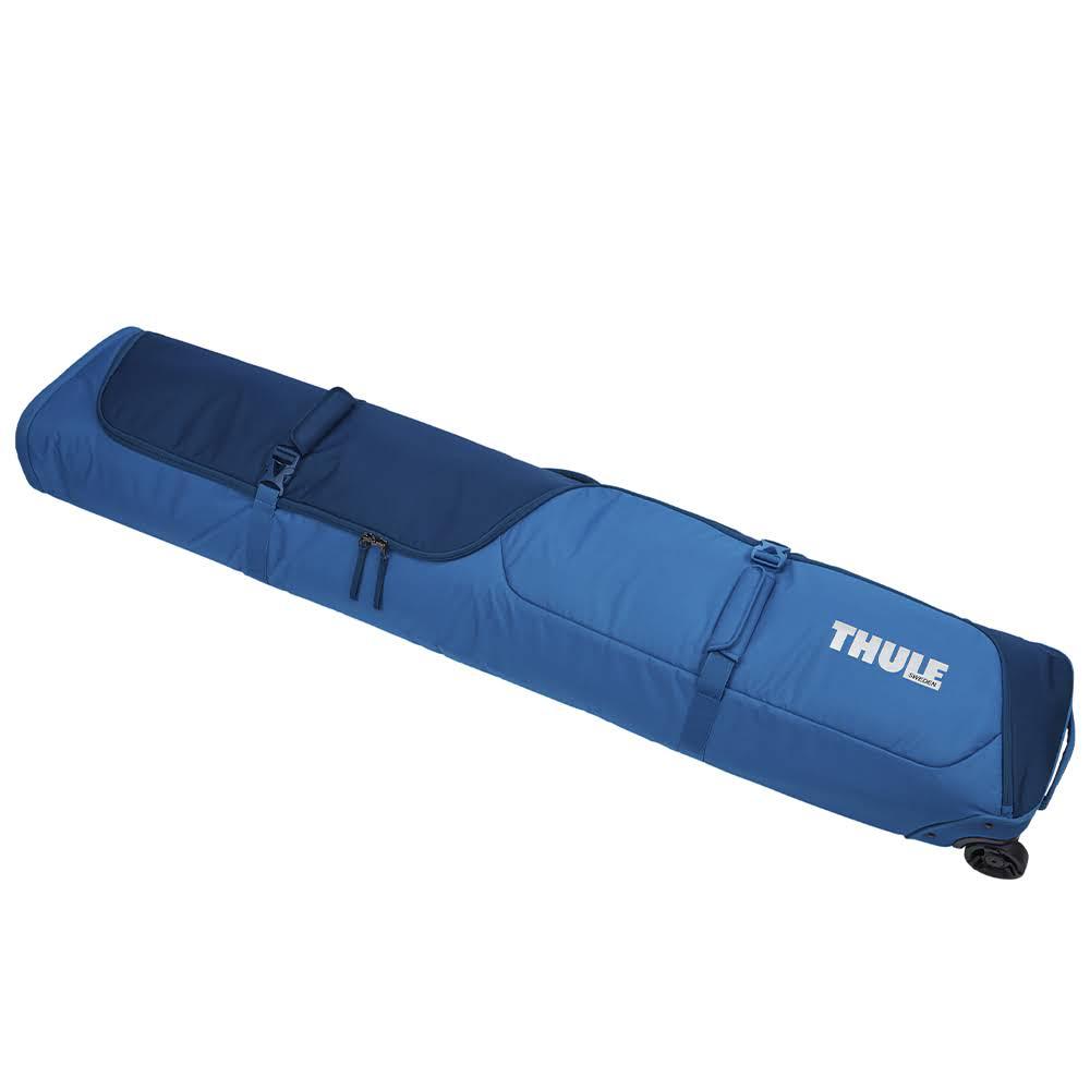 Чехол для сноуборда на колесах Thule RoundTrip Snowboard Roller 165cm Poseidon (синий)