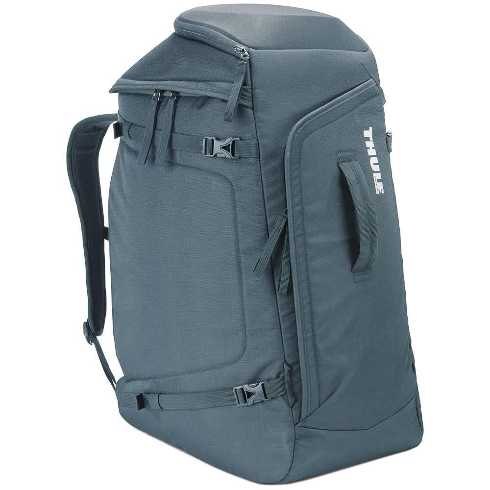 Сумка-рюкзак для лыжных ботинок и шлема Thule RoundTrip Boot Backpack 60L Dark Slate (серо-голубой)