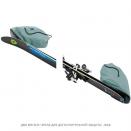 Чехол для лыж на колесах Thule RoundTrip Ski Roller 175cm Dark Slate (серо-голубой)