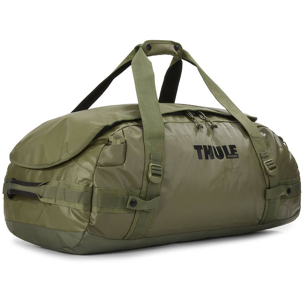 всепогодная спортивная сумка-рюкзак Thule Chasm 70L Olivine оливковая