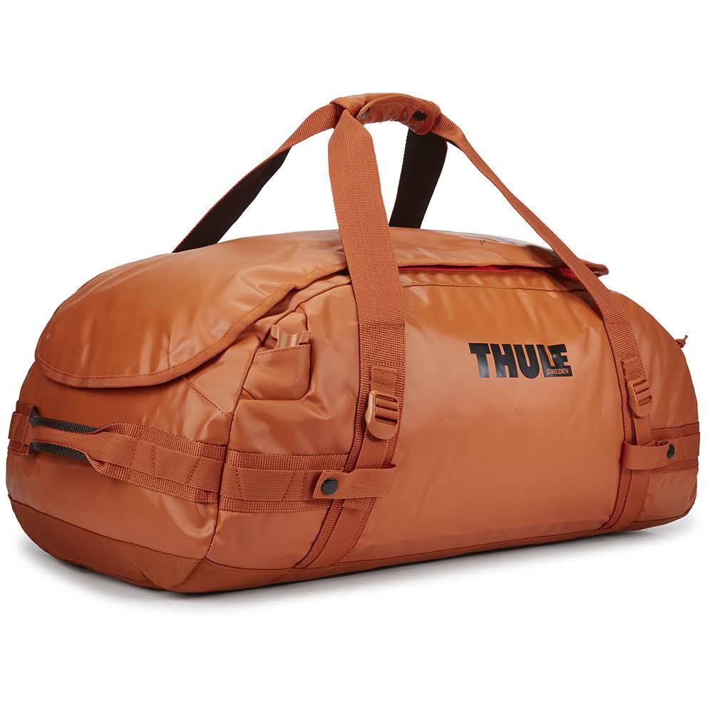 всепогодная спортивная сумка-рюкзак Thule Chasm 70L Autumnal оранжевая