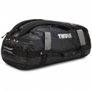 всепогодная спортивная сумка-рюкзак Thule Chasm 70L Black черная