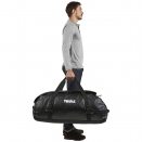 всепогодная спортивная сумка-рюкзак Thule Chasm 130L Black черная