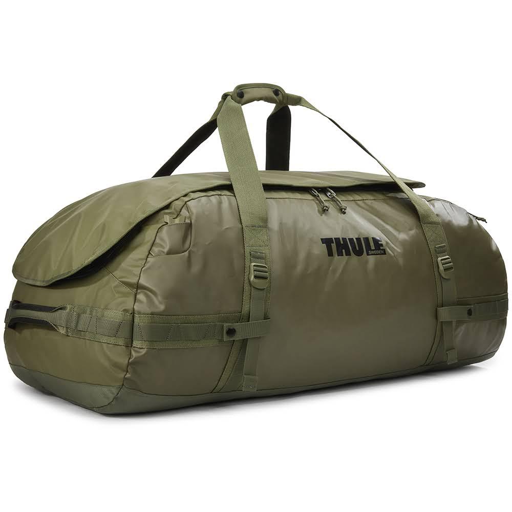 всепогодная спортивная сумка-рюкзак Thule Chasm 130L Olivine оливковая