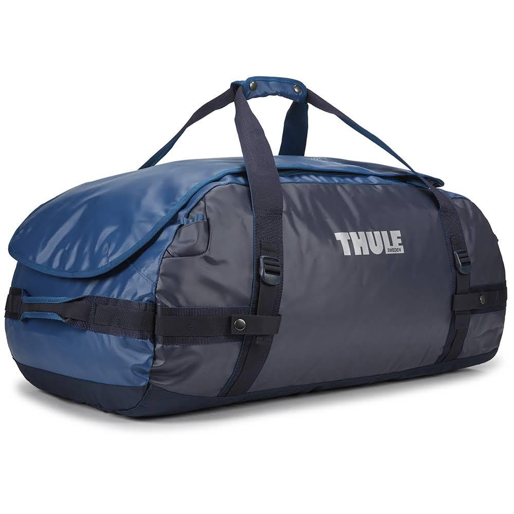 всепогодная спортивная сумка-рюкзак Thule Chasm 90L Poseidon синяя