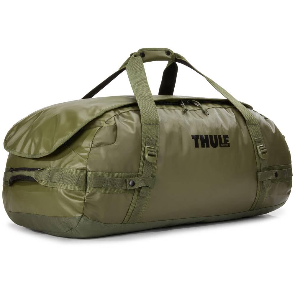 всепогодная спортивная сумка-рюкзак Thule Chasm 90L Olivine оливковая