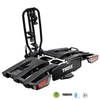 Складное велокрепление на фаркоп Thule EasyFold XT 934 Black на 3 велосипеда
