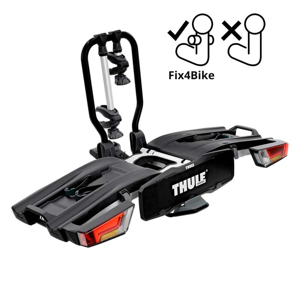Складное велокрепление на 2 велосипеда на фаркоп Thule EasyFold XT 9655 Fix4Bike