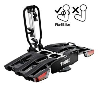 Складное велокрепление на фаркоп Thule EasyFold XT 9665 Fix4Bike на 3 велосипеда