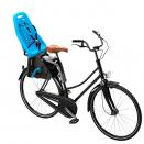 детское велокресло заднее Thule Yepp Maxi Frame mounted Blue