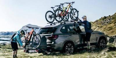 Креления для перевозки велосипеда